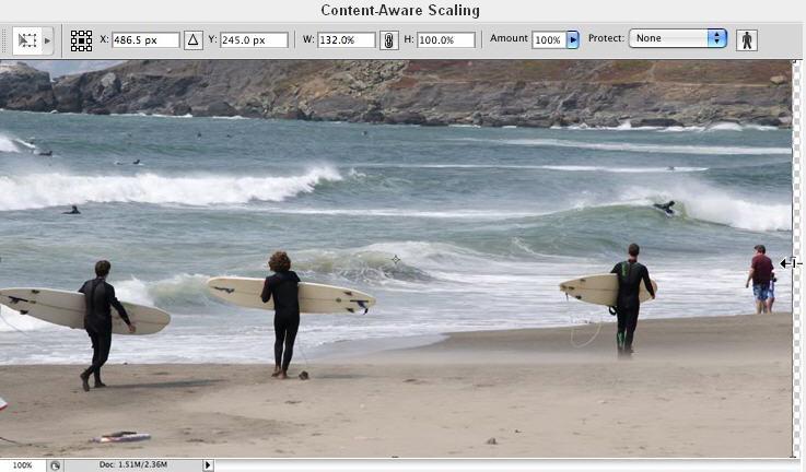 Screenshot Photoshop CS4 Features